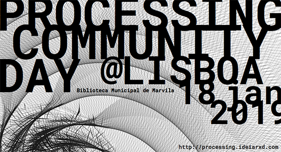 Processing Community Day @ Lisboa